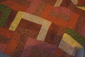 Center pieces of quilt