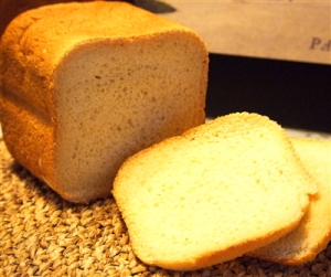 Sweet Rice Flour and Bread Flour loaf.